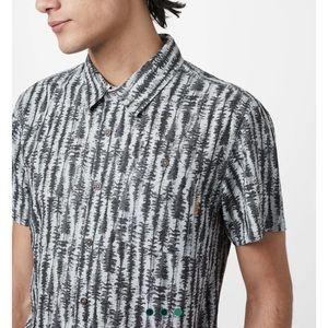 Tentree men's button up shirt